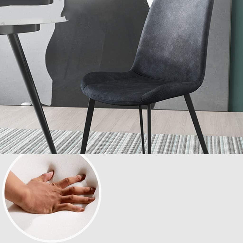 Chaises De Salle À Manger Faux Cuir Chaises De Comptoir Cuisine Lounge Chaises Salon Chaises De Réception Avec Dossier Et Siège Rembourré (Color : C) B