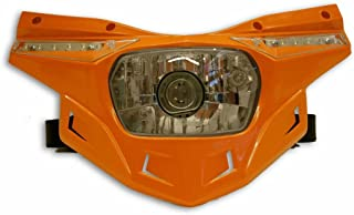 UFO PF01714-127 Headlight (STEALTH LIGHT-STEALTH LOWER ORANGE)