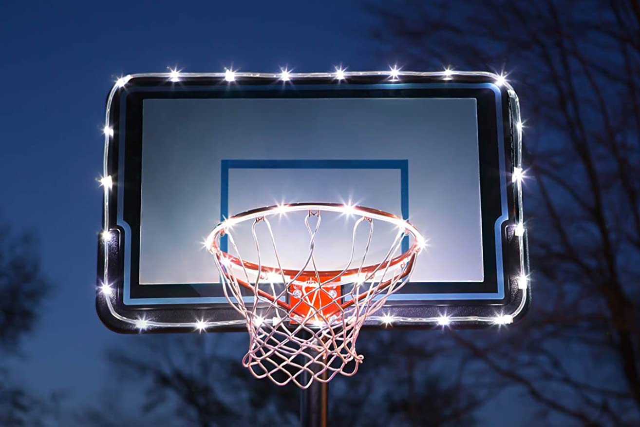 Brightz HoopBrightz LED Basketball Hoop and Backboard Accessory Light