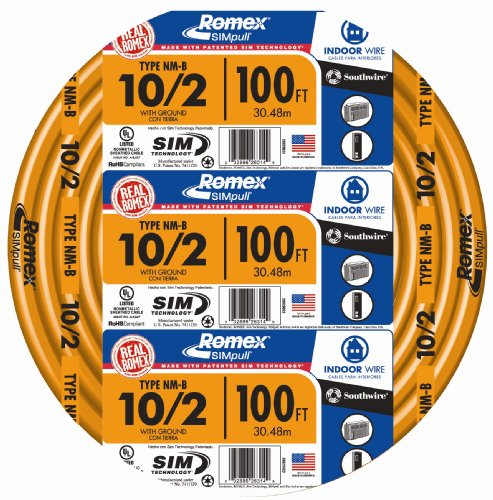 SouthWire 28829023 10/2WG NMB Wire 100-Foot -
