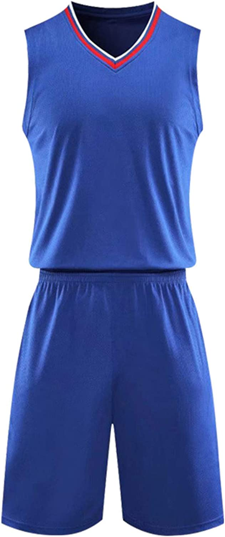 TiaoBug Kids Boys Basketball Jersey Sports Shirts and Athletic Shorts Performance Tank Tops and Shorts Activewear Set