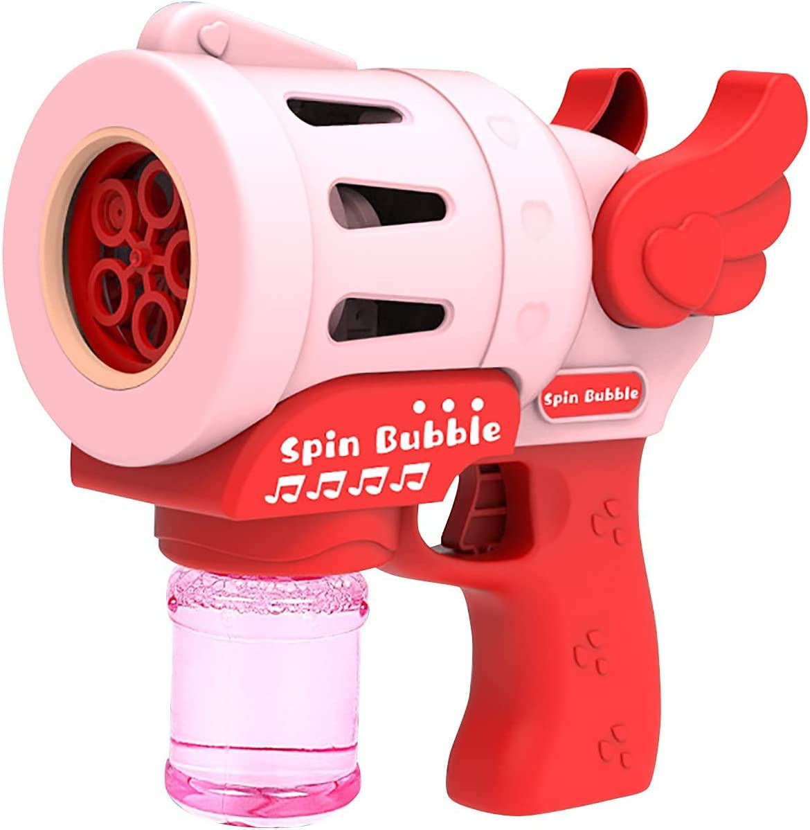 Electric Angel Music Bubble Machine with Max 43% Limited time cheap sale OFF Wings 100ml Waterproof
