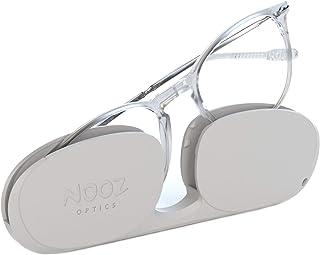 Nooz Optics - Occhiali Luce Blu senza correzione Uomo e donna per Computer, Smartphone, Gaming o Televisione - Forma Ovale...
