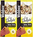 Webbox Cat Treat Chicken & Liver Sticks 6 Pack 30g