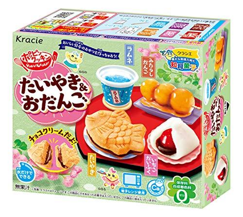 - Popin Cookin Taiyaki & Dango DIY-Süßigkeiten-Kit für japanische Süßigkeiten, traditionelles Set, Mochi Ramune