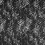 Fabulous Fabrics Pannesamt schwarz, 155cm breit –