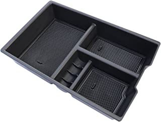 Car Center Console Organizer Tray Storage Box for Dodge Ram 1500 Accessories 2009-2018(Full Console w/Bucket Seats ONLY)
