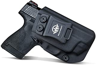 IWB Kydex Holster Custom Fit: Smith & Wesson M&P Shield 9mm/.40 M2.0 S&W - with Integrated CT Laser - Inside Waistband Con...