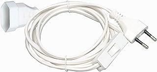 Kopp Alargador Europeo con Interruptor, 3 m, Color Blanco 146302091