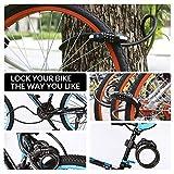 Zoom IMG-2 lucchetti per bicicletta sicurezza blocco