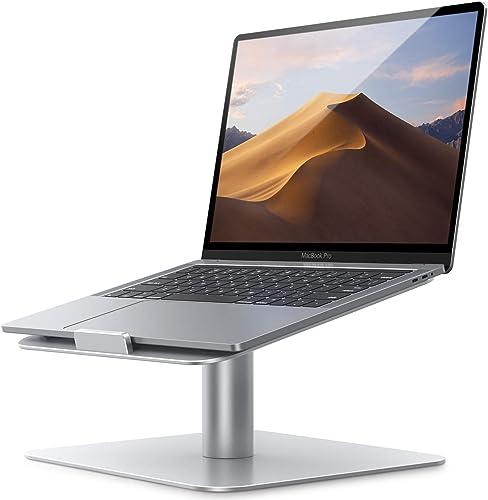 Lamicall Soporte para Laptop, Base Laptop : [Giratorio 360] Stand para Laptop de mesa oficinas, Compatible con MacBoo...