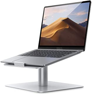 Swivel Laptop Stand, Lamicall Laptop Riser - [360-Rotating] Ergonomic Aluminum Computer Desk Holder Compatible with Apple MacBook, Air, Pro, Dell XPS, HP, Lenovo and More 10