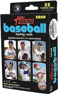 2020 Topps Heritage MLB Baseball Retail Hanger Box