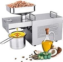 IDABAY Máquina de Prensa de Aceite Electrónica Oil Press Machine750W