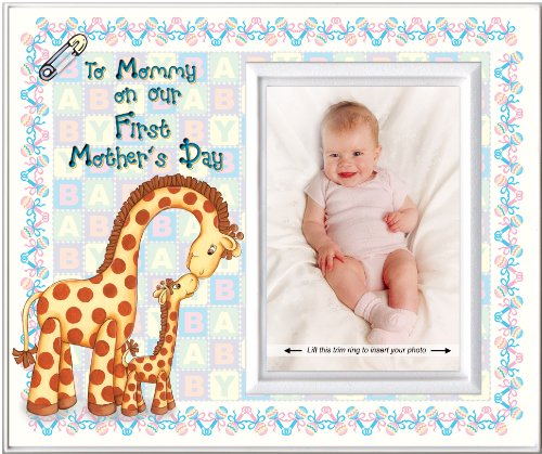 First Mother's Day Colorful Picture Frame