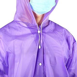 Hooded Raincoat, Efficient Rain Coat with EVA Material for Fishing Hunting