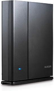 エレコム WiFi 無線LAN ルーター 11ac ac1900 1300+600Mbps IPv6対応 トレンドマイクロセキュリティ 3階建/4LDK デュアルバンド WRC-1900GST2