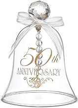 Hortense B. Hewitt Accessories 50th Anniversary Glass Bell