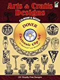 Arts and Crafts Designs CD-ROM and Book (Dover Electronic Clip Art)