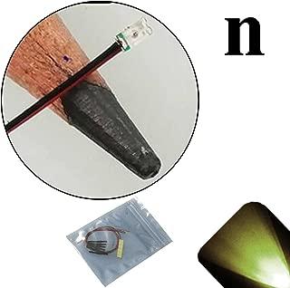 Lighthouse LEDs 12v 0603 Nano SMD Wide Angle Pre-Wired Warm/Soft White LED - Ultra Bright (10v, 11v, 12v, 13v, 14v, 15v, 16v, 17v, 18v) (Pack of 20)