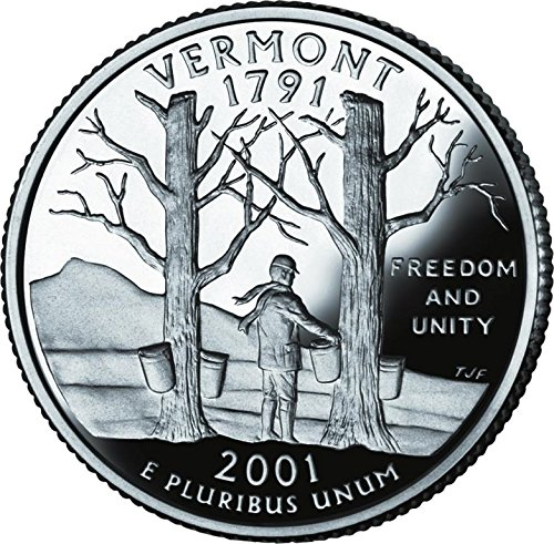 2001 D Bankroll of Vermont Statehood Uncirculated