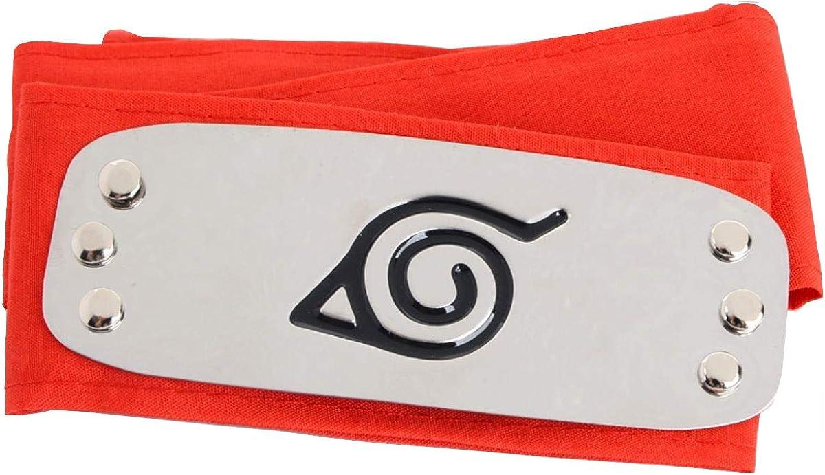 "Naruto Cosplay Anime Ren Shinobi Ninja Black Headband 37/"" Halloween"