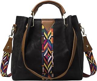 XingChen Damen Handtaschen Taschen PU Leder Moderne Damen Henkeltaschen Schultertasche Frauen Umhängetasche