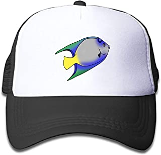 scakoko Youth Kid's Baseball Caps Fish Clipart Png Trucker Hats Mesh Cap