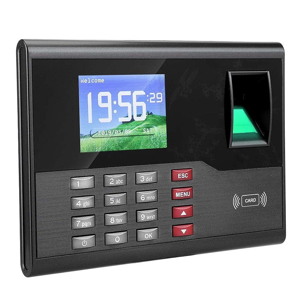 想起蒸気オープニング指紋出席レコーダー タイムレコーダー 指紋時間出席機 生物測定 指紋認証 指紋パスワード出席機械 従業員のチェック レコーダー指紋出席機械 アクセス管理(US プラグ)