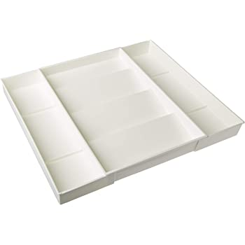 Dial Industries 2507 Expand-A-Drawer Spice Tray,White