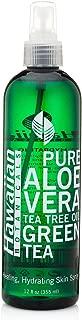 Hawaiian Botanicals Aloe Vera,Tea Tree Oil, Green Tea, Healing, Hydrating Skin Spray Large 12 oz. Bottle!