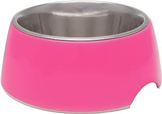 Loving Pets 7132 Retro Hot Pink Medium- Dog Bowl
