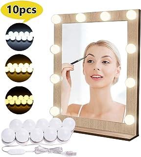 Luces para Espejo de Maquillaje LED Lámpara de Espejo Cosm