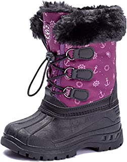 north face kids snow boots
