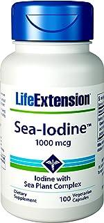 Life Extension Sea-Iodine 1000 mcg Capsules, 100 Count