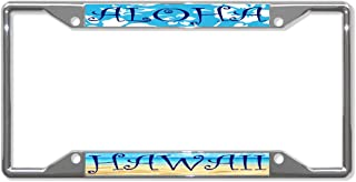 Fastasticdeals Aloha Hawaii License Plate Frame Tag Holder Cover