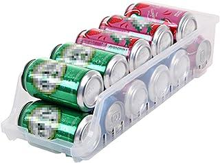 Réfrigérateur Boîte De Rangement Réfrigérateur Organisateur Binks Can Distributeur Storage Storage Boisson en Conserve Con...