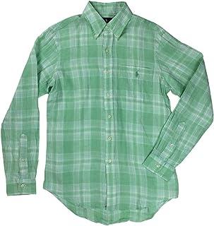 1fe6dd1cf Polo Ralph Lauren Men s Classic Fit Linen Long Sleeve Button Front Shirt