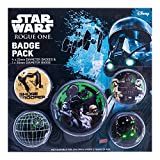 Pyramid International Star Wars Rogue One Empire-Anstecker, Plastik, Mehrfarbig, 10 x 12.5 x 1.3 cm -