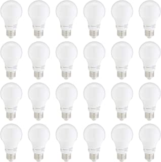 AmazonBasics 60W Equivalent, Daylight, Non-Dimmable, 10,000 Hour Lifetime, A19 LED Light..