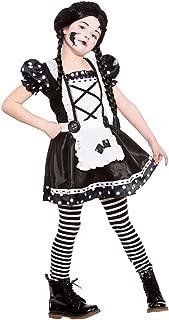 Disfraz de la muñeca quebrada para las niñas. Talla L de 8-10 años (134-146cm) ...