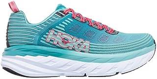HOKA ONE ONE Women's Bondi 6 Running Shoe, Canton/Green/Blue Slate 9 US