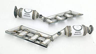 Manifold Catalytic Converter Replacement for 5.6L Infiniti QX56 & Nissan Armada Titan Pathfinder Left & Right