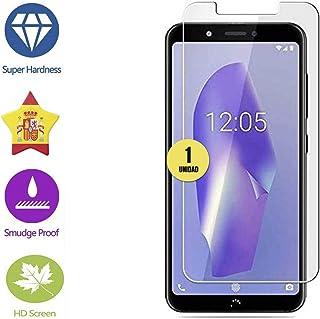 case & glass 1 Unidad de Protector de Pantalla Premium 2.5D Cristal Vidrio Templado Transparente 9H BQ Aquaris C