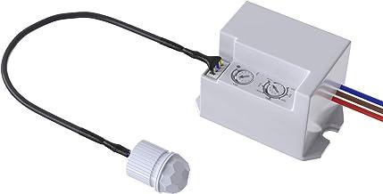 Garza - Detector de Movimiento Infrarrojo Integrable, con ángulo de detección 360º