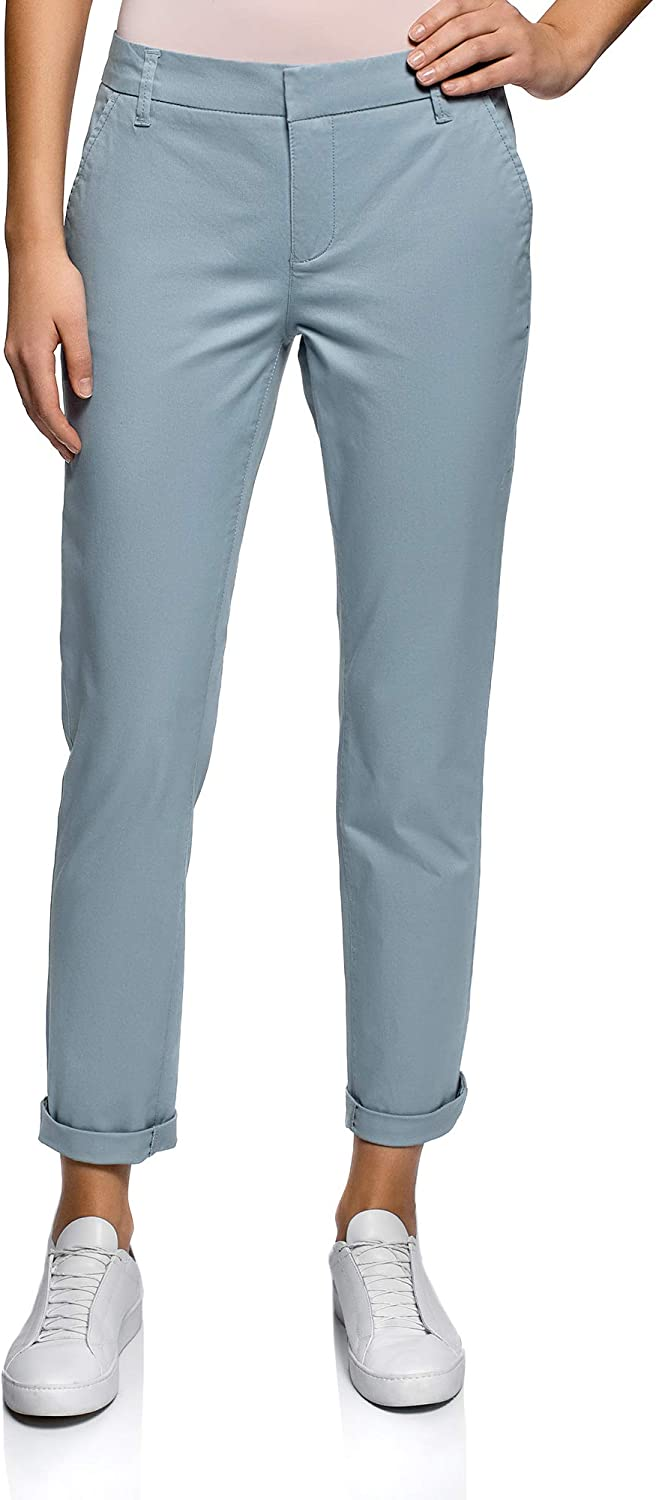 Oodji Ultra Women's Basic Cotton Trousers