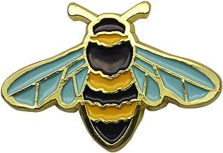 Honey Bee Enamel Pin Nature Animal Mini Bee Pin Badge Cute Bee Wildlife Lapel Pin Jewelry