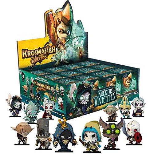 Ankama - Krosmaster Booster Season 4: Muertos Vivientes (12 Figuras Aleatorias)