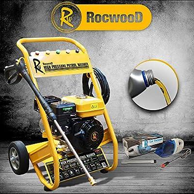 RocwooD 3000 PSI 7HP 10 Litre Per Min Petrol High Power Pressure Jet Washer by Rocwood
