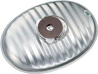 マルカ 湯たんぽ 銀色 2.2L じょうごの要らない湯たんぽ (日本製) 燦々J-22